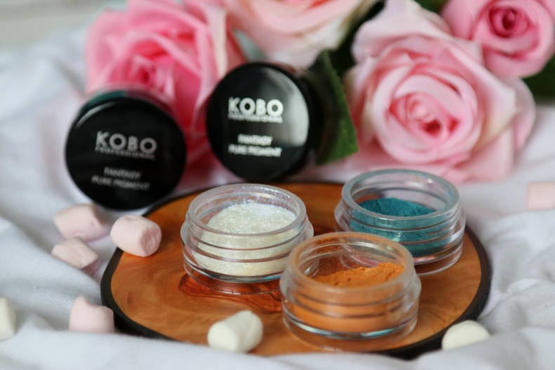 Pigmenty do makijażu Kobo
